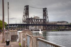 Bridges of Portland Stock Images