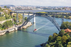 Bridges of Porto City Stock Photography