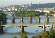 Bridges in Prague Stock Images