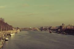 Bridges of Prague, over Vltava. Prague-Prague 1, Czechia, Vltava river Royalty Free Stock Photography