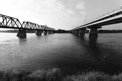 Bridges in Prince Albert Stock Image