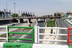 Bridges in Qom Royalty Free Stock Photos