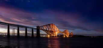 Queensferry forth bridge Royalty Free Stock Image
