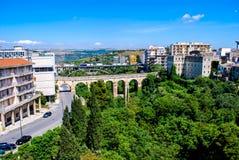 The bridges of Ragusa in Sicily Stock Photo