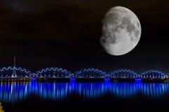 Bridges of Riga Royalty Free Stock Photography