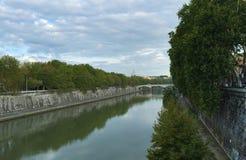 Bridges of Rome - Ponte Principe Amedeo Savoia Aosta stock photos