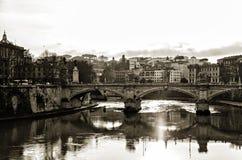 Bridges of Rome Royalty Free Stock Photos