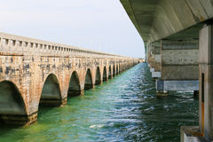Bridges in the Sea Stock Photo