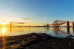 The bridges in South Queensferry Royalty Free Stock Photo