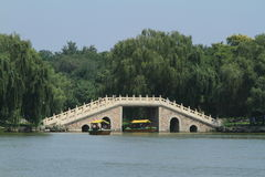 Bridges of the Summer Palace in Beijing Stock Image