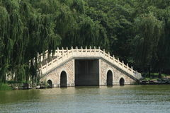 Bridges of the Summer Palace in Beijing Royalty Free Stock Images