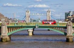 Bridges on Thames Royalty Free Stock Image