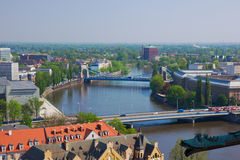 Bridges,  Wroclaw, Poland Royalty Free Stock Photos