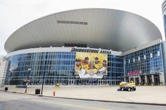 Bridgestone Arena Closeup Stock Photography