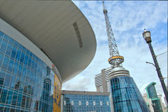 BRIDGESTONE ARENA stock photos