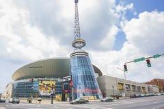 Bridgestone arena i Nashville Arkivfoton