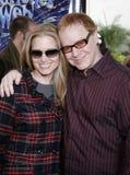 Bridget Fonda and Danny Elfman Stock Photos