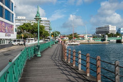 Bridgetown, Μπαρμπάντος, Δυτικές Ινδίες Στοκ φωτογραφία με δικαίωμα ελεύθερης χρήσης