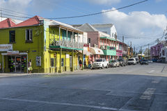 Bridgetown Barbade dans les Caraïbe Photo stock