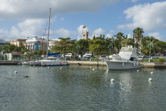 Bridgetown, Barbados, in the Caribbean Stock Images