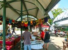 Bridgetown, Barbados - 11 de mayo de 2016: Centro comercial en la calle principal de la ciudad Fotos de archivo