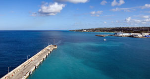 Bridgetown, Barbados - porto do cruzeiro e cais Fotos de Stock Royalty Free