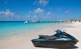 Bridgetown, Barbados - Tropical island - Caribbean sea - Brownes beach - Carlisle bay. Antilles royalty free stock image