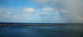 Bridgetown Horbor , Barbados Royalty Free Stock Photography