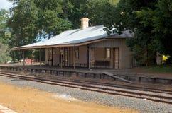 Bridgetown station, västra Australien Royaltyfri Fotografi