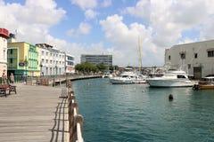 Bridgetownjachthaven, Barbados Royalty-vrije Stock Afbeeldingen