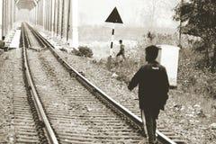 Bridgetrack铁路 免版税库存照片