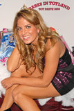 Bridgetta Tomarchio. At  B-Day Bash and Babes in Toyland Toy Drive, Lucky Strike, Hollywood, CA. 12-04-09 stock image