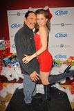 Bridgetta Tomarchio,Danny Trejo. Danny Trejo and Alicia Arden at Bridgetta Tomarchio B-Day Bash and Babes in Toyland Toy Drive, Lucky Strike, Hollywood, CA. 12 royalty free stock images