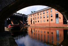 Bridgewater Canals, Manchester, UK Royalty Free Stock Photo