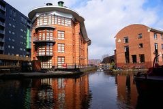 Bridgewater Canals, Manchester, UK Royalty Free Stock Photography