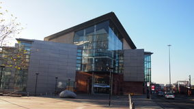 Bridgewater Hall Machester UK Obraz Royalty Free