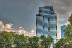 Bridgewater place in Grannd Rapids Royalty Free Stock Photography