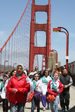 Bridging Event. Girlscout Bridging event in San Franciso California Royalty Free Stock Image