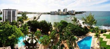 Bridging San Juan and Condado Stock Photography