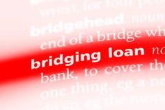 bridgingloan 免版税库存图片