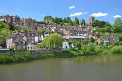 Bridgnorth View Stock Image