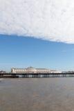 Bridgton pier, England. Brighton pier United Kingdom in silent spring evening Stock Images