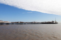 Bridgton pier, England. Royalty Free Stock Photography