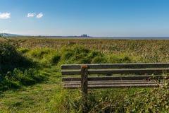 Bridgwater海湾自然保护,英国,英国 库存图片