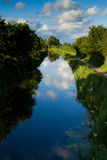 Bridgwater and Taunton Canal Stock Photo
