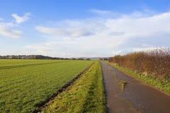 Bridleway concret Photo libre de droits