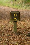 Bridleway Direction Sign. Stock Image
