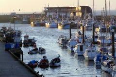 Bridlington-Hafen stockbilder