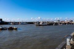 Bridlington Harbour Stock Photography