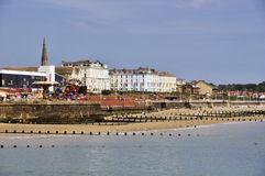 Bridlington view Royalty Free Stock Images